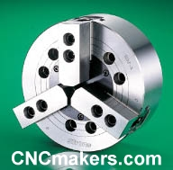 3-Jaw Non Through Hole Power Chucks