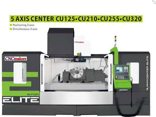 5 Axis Center CU125 CU210 CU255 CU320