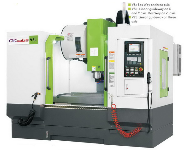 CNC Machining Center V8 V8L V9L