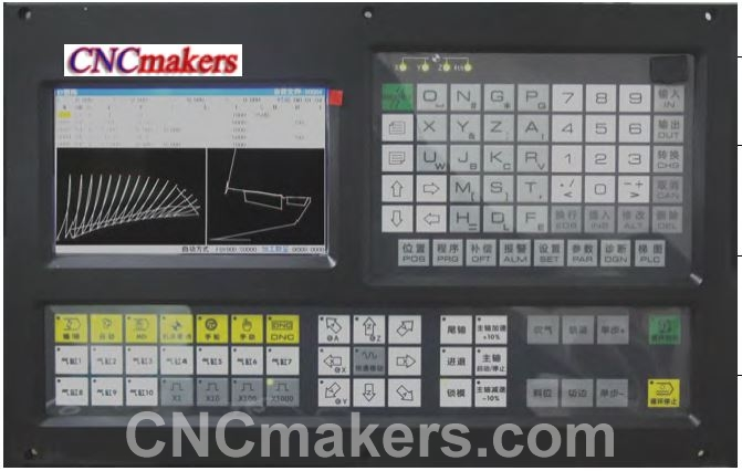 CNC Spinning Lathe Machine Controller