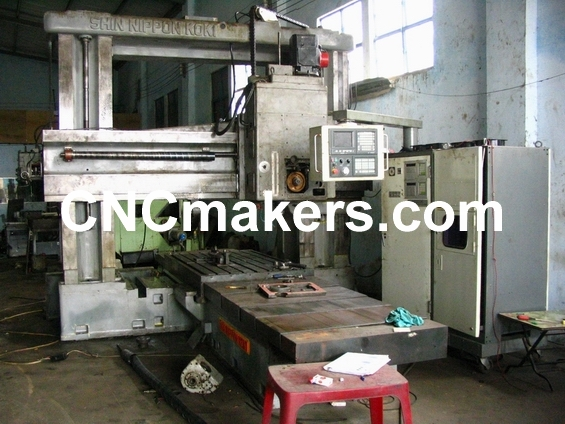 Double Column Milling Machine Retrofitting