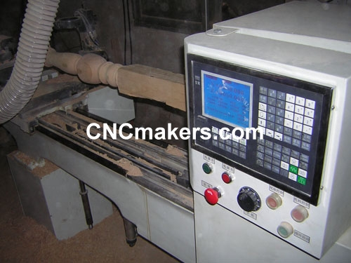 Woodworking CNC Lathe