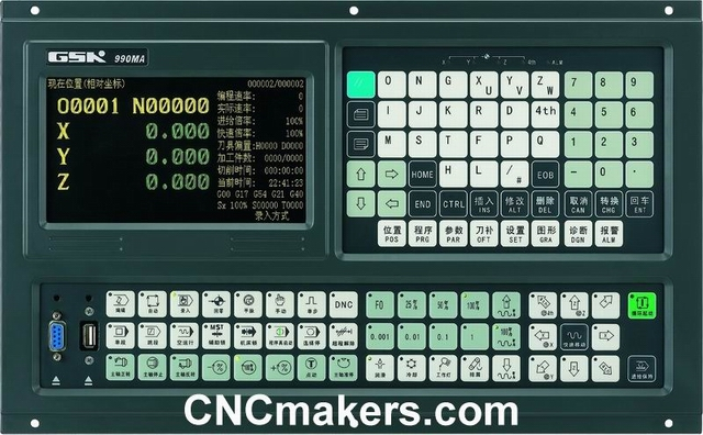 Milling CNC Controller